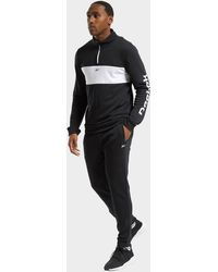 Reebok Training Essentials Linear Logo Tracksuit - Black
