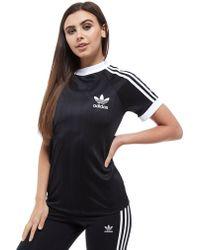 adidas Originals - California Football T-shirt - Lyst