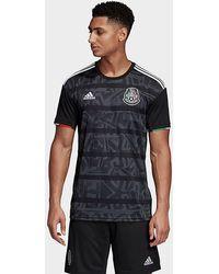 adidas Mexico Home Jersey - Black