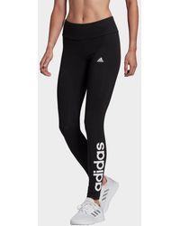 adidas Loungewear Essentials High-waisted Logo Leggings - Black