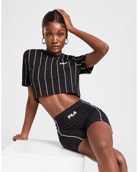 Fila Pipe Panel Cycle Shorts - Black