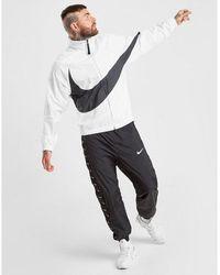 Nike Swoosh Woven Jacket - White