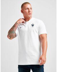 Nike France Authentic Polo Shirt - White