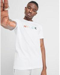 Nicce London Denver T-shirt - White