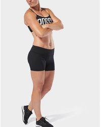 Reebok Crossfit Lux Fade Bootie Shorts - Black