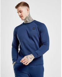 Under Armour Rival Crew Sweatshirt - Blue