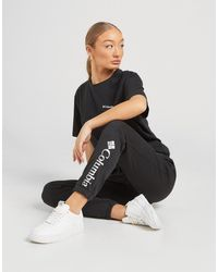Columbia Logo French Terry Sweatpants - Black