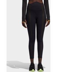 adidas X Ivy Park Mesh Panel Leggings - Black