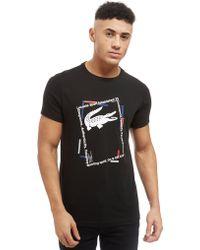Lacoste - Croc Box T-shirt - Lyst