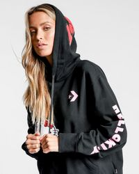 Converse - Hello Kitty Pull Over Hoodie - Lyst