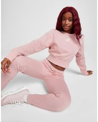 Nike Air Crop Crew Sweatshirt - Pink