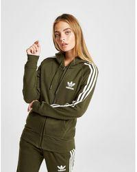 adidas Originals - 3-stripes California Full Zip Hoodie - Lyst