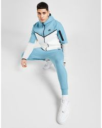 Nike Tech Fleece Sweatpants - Blue
