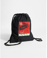3142055eb102d Nike Heritage Gymsack in Red - Lyst