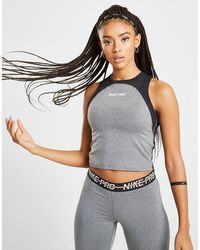 Nike Training Pro Slim Tank Top - Gray