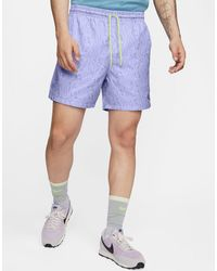 Nike Sportswear Men's Woven Shorts - Blue