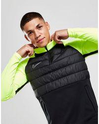 Nike Academy Winter 1/4 Zip Top - Black