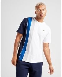 Lacoste Vertical Panel T-shirt - White