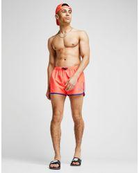 EA7 - Fluo Core Swim Shorts - Lyst