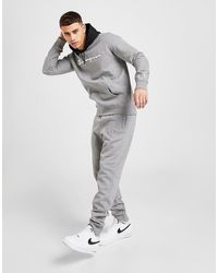 Champion Contrast Hood Tracksuit - Gray