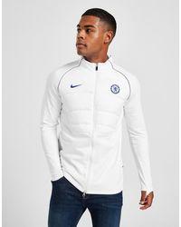 Nike Chelsea Fc Padded Drill Jacket - White