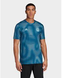 74191789 Nike 2018-2019 Man City Dry Pre Season Tee Men's T Shirt In Blue in ...