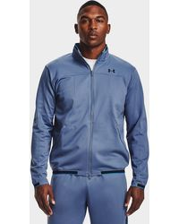 Under Armour Recover Knit Track Jacket - Blue