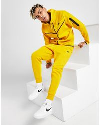 Nike Tech Fleece Sweatpants - Yellow