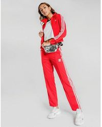 adidas Originals Firebird Tracksuit Bottoms - Red