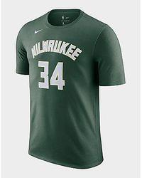 Nike Giannis Antetokounmpo Bucks NBA-T-Shirt für Herren - Grün