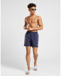 Fred Perry - Taped Swim Shorts - Lyst