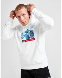 The North Face Mountain Hoodie - White
