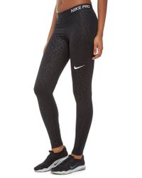 Nike - Pro Training Spotted Tights - Lyst