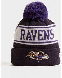 KTZ - Nfl Baltimore Ravens Pom Beanie Hat - Lyst