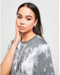 adidas Originals Tie Dye Boyfriend T-shirt - Gray