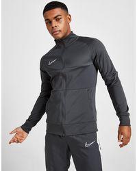 Nike Academy Poly Track Top - Grey