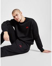 Nike Foundation Crew Sweatshirt - Black