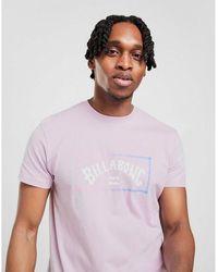 Billabong Fade Box T-shirt - Purple