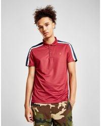 Farah - Colour Block Polo Shirt - Lyst