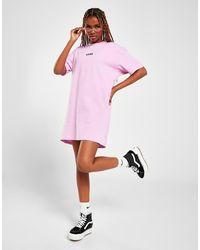 Vans Flying V T-shirt Dress - Pink