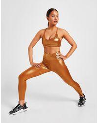 Nike Training One Shimmer Tights - Metallic