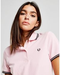 Fred Perry - Tipped Polo Shirt - Lyst