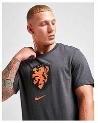 Nike - Niederlande Crest T-Shirt Herren - Lyst