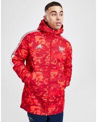 adidas Arsenal Fc Chinese New Year Jacket - Red