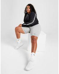 Nike Plus Size Core Cycle Shorts - Grey
