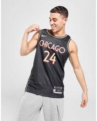 Nike Nba Chicago Bulls Markkanen 24 City Edition Jersey - Black