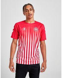 Hummel Dbu Retro Short Sleeve T-shirt - Red