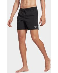 Reebok Woven Swim Shorts - Black