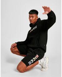 Nicce London Dent Shorts - Black