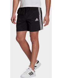 adidas Aeroready Essentials Chelsea 3-stripes Shorts - Black